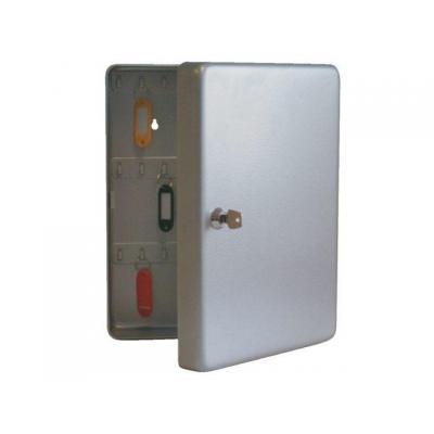 Beaumont sleutelkast: Keycabinet K 50 ( 50 hooks) aluminium colour