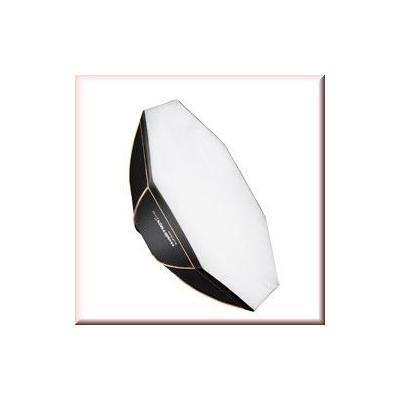 Walimex softbox: pro Octagon Softbox OL Ø60 Broncolor - Zwart, Wit