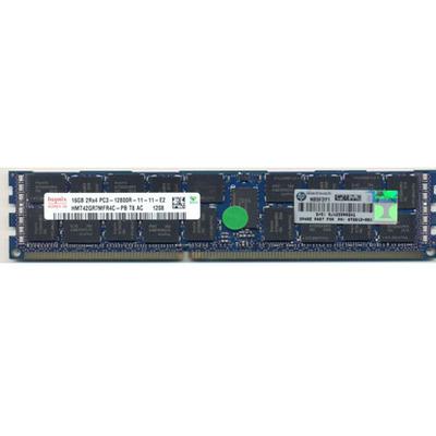 Hewlett Packard Enterprise 16GB, PC3-12800R-11, Dual-Rank Dual In-Line Memory Module (DIMM) .....