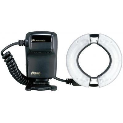 Nissin camera flitser: MF18 Macro Flash - Zwart