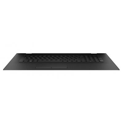 HP Top Cover & Keyboard (Nordic) notebook reserve-onderdeel - Zwart