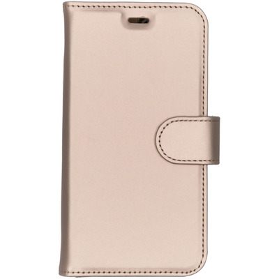 Wallet Softcase Booktype General Mobile GM6 - Goud / Gold Mobile phone case