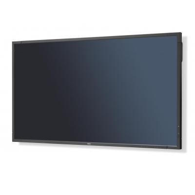 Nec public display: MultiSync E805 - Zwart