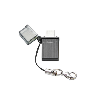 Intenso Mini Mobile Line USB flash drive - Zwart
