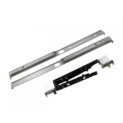 HP Rack mount kit - Includes rack mounting rails with slides, a brace, and a cable management assembly rack toebehoren