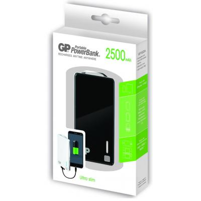 Gp batteries powerbank: Portable PowerBank XPB28 - Zwart