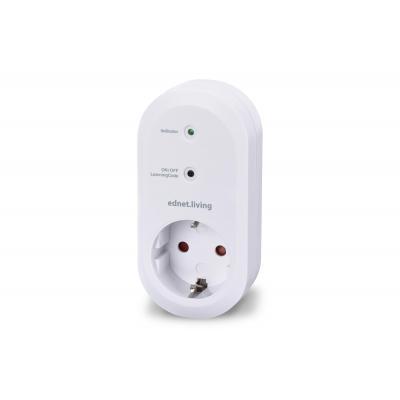 Ednet .living Smart Plug - Wit