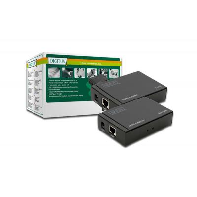 Digitus video switch: HDMI Video extender, Cat5/6