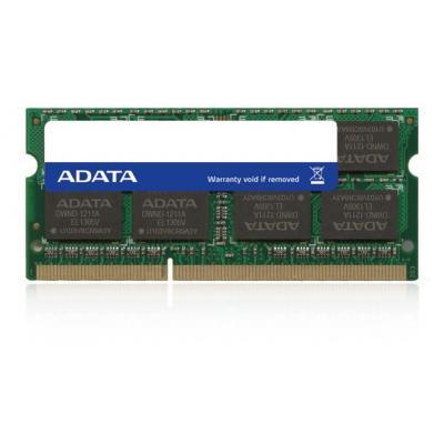 Adata RAM-geheugen: 4GB, DDR3L, 1600MHz, SO-DIMM - Groen