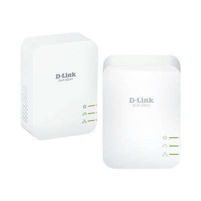 D-Link DHP-P601AV Powerline adapter - Wit