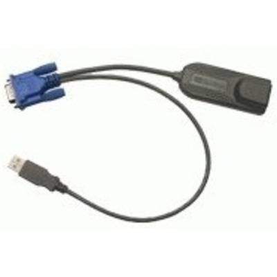 Raritan KVM kabel: DCIM-USBG2 - Zwart