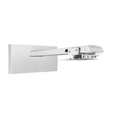 Dell projector plafond&muur steun: Muurmontagesysteem met enkele steun - Wit