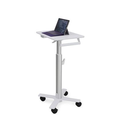 Ergotron StyleView S-Tablet Cart, SV10 Multimedia kar & stand - Aluminium,Wit