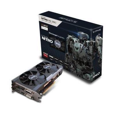 Sapphire videokaart: NITRO R9 380 2GB - Zwart