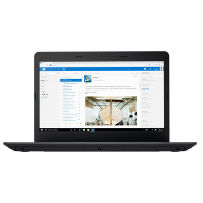 Lenovo laptop: ThinkPad E470 - Zwart