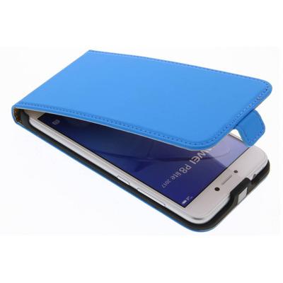 Luxe Hardcase Flipcase Huawei P8 Lite (2017) - Blauw / Blue Mobile phone case