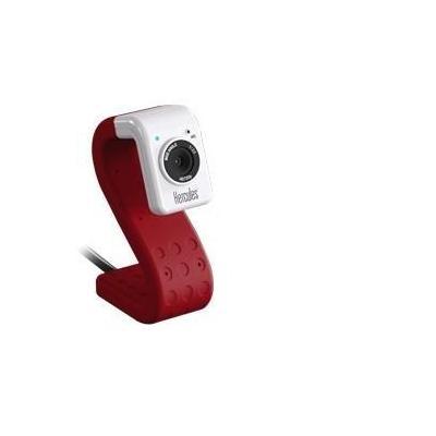 Hercules webcam: HD Twist - Rood