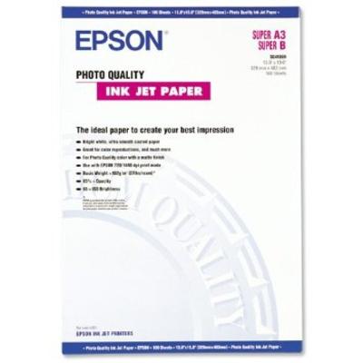 Epson Photo Quality, DIN A3+, 102g/m² Fotopapier - Wit