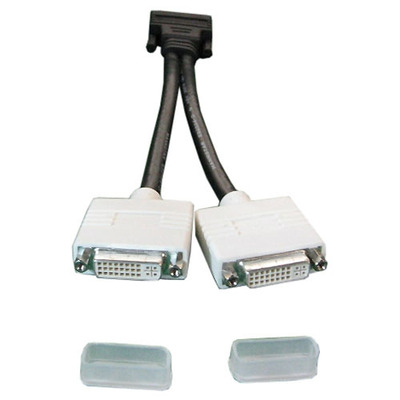 DELL Dual DVI DVI kabel  - Zwart