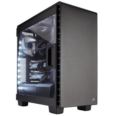 Corsair behuizing: Carbide 400C - Zwart