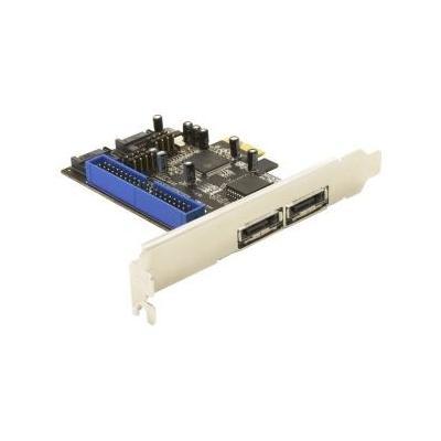 Delock controller: PCI Express controller card 2x SATA, 1x IDE