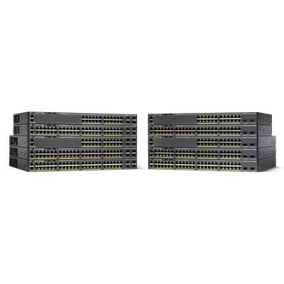 Cisco switch: Catalyst 2960-X - Zwart