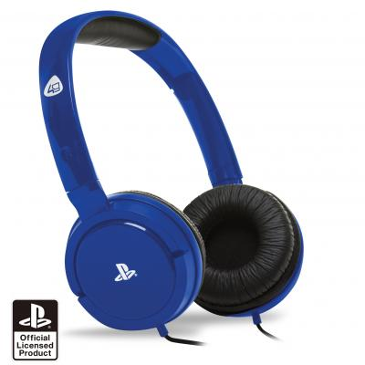 4gamers game assecoire: PRO4-15 Stereo Gaming Headset (Blauw)  PS4