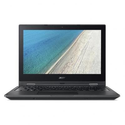 Acer laptop: TravelMate B118-R-C65T - Zwart, QWERTY