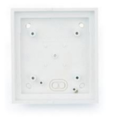 Mobotix T24M\Single On-Wall mount Pure White Elektrische aansluitkast - Wit