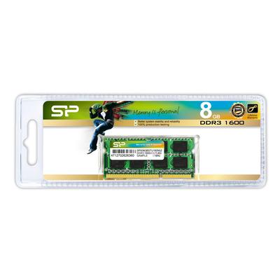 Silicon Power SP008GBSTU160N02 RAM-geheugen