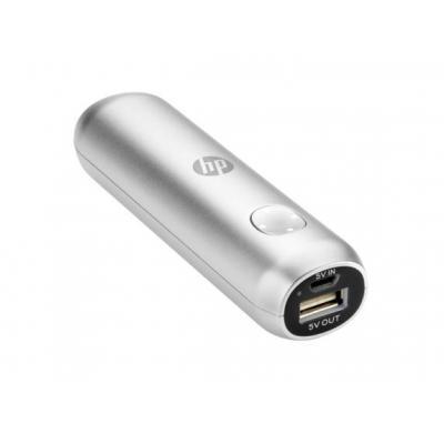 HP 2600 Powerbank - Zilver