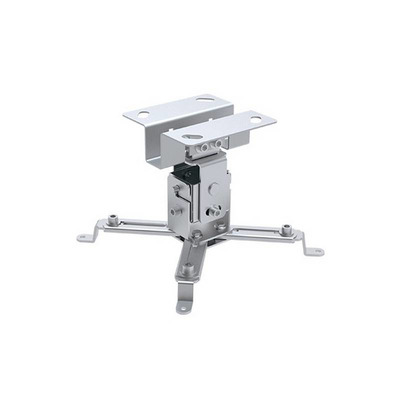 Techly Projector Ceiling Support Extension 130mm Silver Projector plafond&muur steun - Zilver