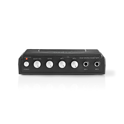 Nedis MIXK050BK Karaoke systeem - Zwart