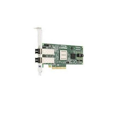 Lenovo netwerkkaart: Dual-port CNA, 802.3/ab/an/u, 10 Gbit, Dual Port - Groen, Zilver