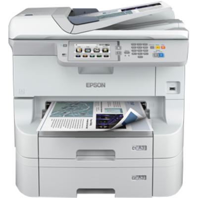 Epson WorkForce WF-8590 DTWF Multifunctional - Zwart, Cyaan, Magenta, Geel