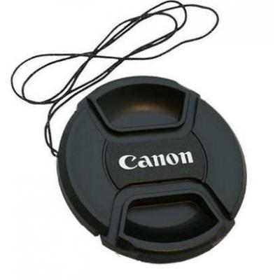 Canon lensdop: Lens Cap for the PowerShot SX50 Digital Camera - Zwart