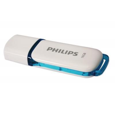 Philips FM16FD70B/10 USB flash drive - Blauw, Grijs