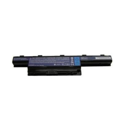 Acer batterij: Li-Ion 6 Cell 4400mAh - Zwart