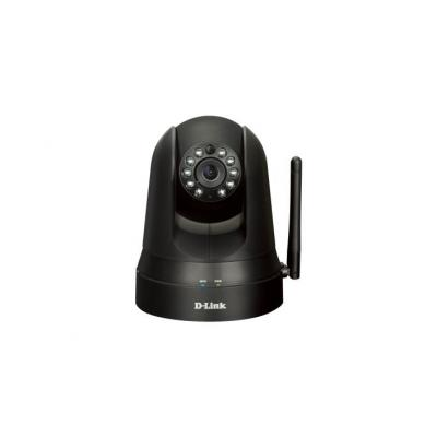 D-Link beveiligingscamera: DCS-5009L - Wi-Fi Pan & Tilt Day/Night Camera  - Zwart