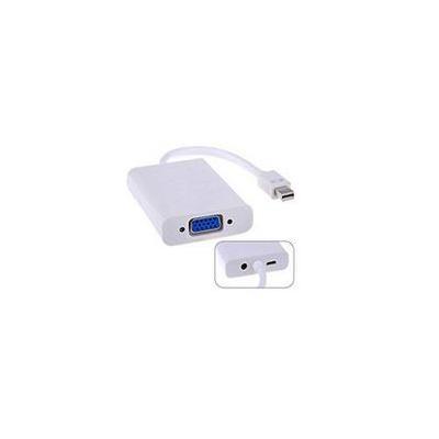 Microconnect Mini Displayport-VGA M-F White - Wit