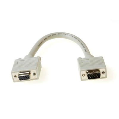 ACT 0.25m D-Sub, M/F VGA kabel