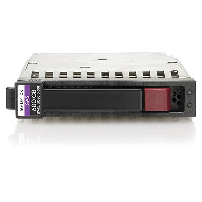 Hewlett Packard Enterprise 600GB hot-plug dual-port SAS HDD Interne harde schijf