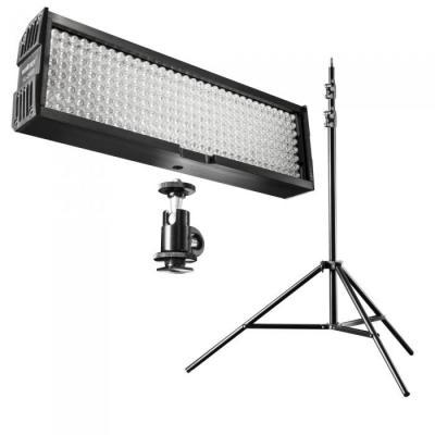 Walimex photo studio equipment set: LED Video Light - Zwart