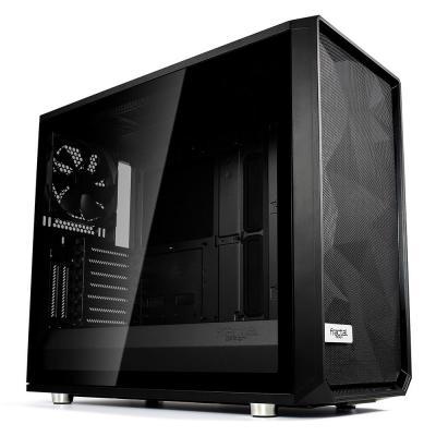 Fractal Design Meshify S2 Black – Dark TG Behuizing - Zwart