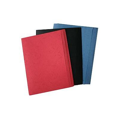 Olympia Thermo-Binding Covers, A4 Binding cover - Zwart, Blauw, Rood