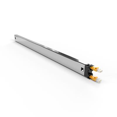 PATCHBOX ® Plus+ Cat.6a Cassette (UTP, Yellow, 1.8m / 30RU) Netwerkkabel - Geel