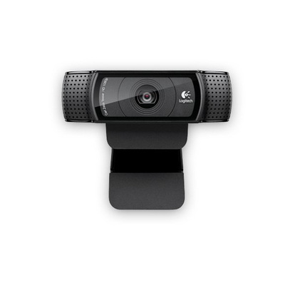 Logitech webcam: HD Pro Webcam C920 - Zwart