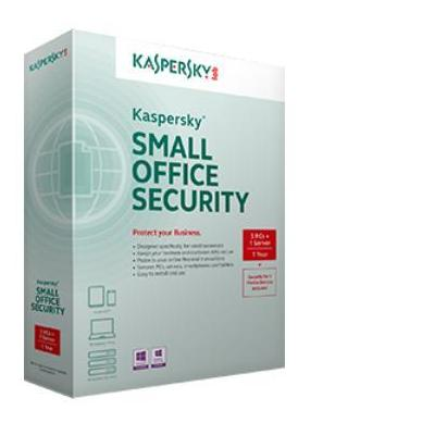 Kaspersky Lab software: Small Office Security 3 for Personal Computers Mobile and File Servers European Editio