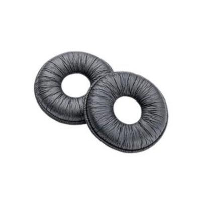 POLY 38065-25 - Plantronics Leatherette Ear Cushions Single pack Koptelefoonkussen - Zwart
