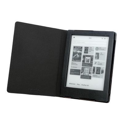 Gecko e-book reader case: Luxe beschermhoes geschikt voor Kobo Touch 2.0 - Zwart